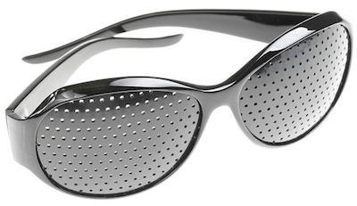 Cosa sono gli occhiali stenopeici occhiali forati for Attrici con gli occhiali da vista