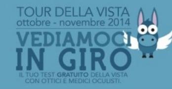 Il Tour della Vista: campagna di sensibilizzazione sulla prevenzione visiva
