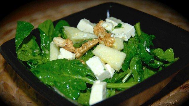 spinaci noci