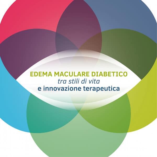 Logo Evento Edema Maculare Diabetico Traa stili di Vita e Innovazione Terapeutica