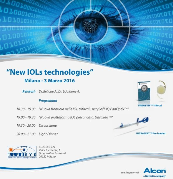 03.2016 | Workshop New IOLs technologies