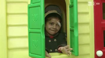 La nuova vita di Falak – Una bambina siriana curata a Roma